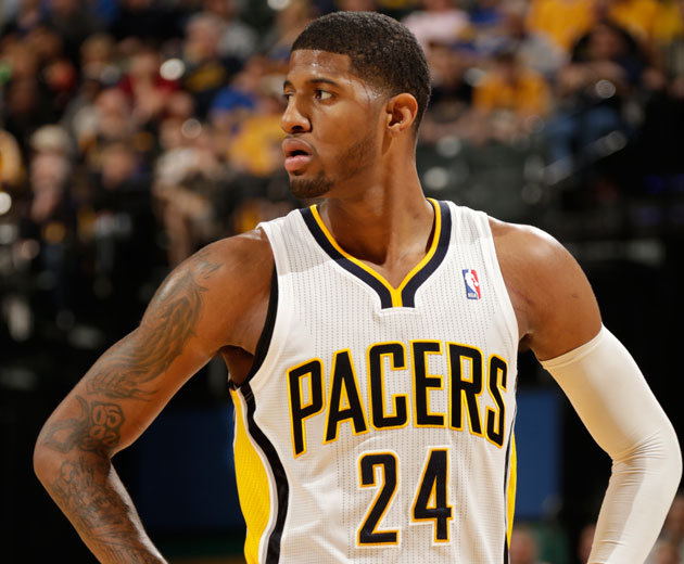 George's triple double powers pacers past Hawks George En Paul