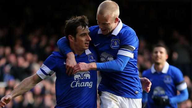 Everton: Home sweet home for Leighton Baines