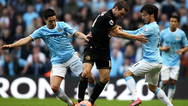 Man City: Samir Nasri's cup shock spur