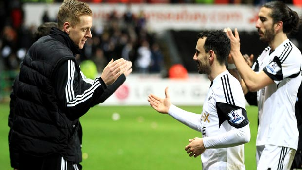Swansea City: Garry Monk coy on Swans future