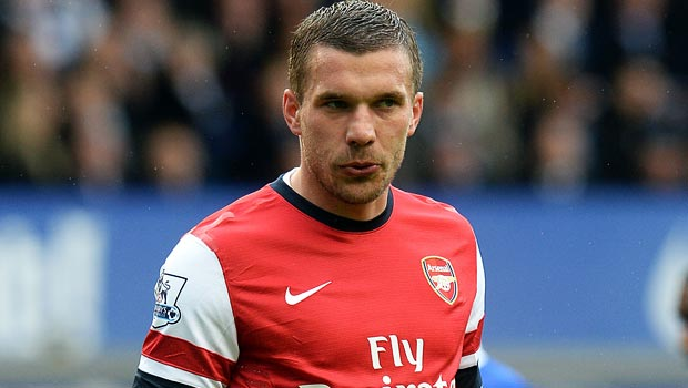 Arsenal: Lukas Podolski issues 'disaster' warning