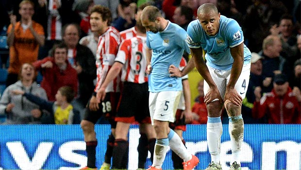 Manchester City: Citizens slip up again