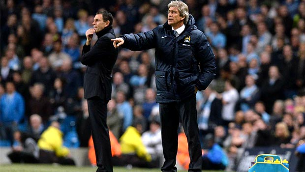 Man City: Manuel Pellegrini insists Citizens spirits are high