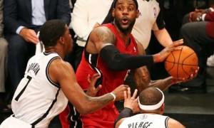 Miami Heat v Brooklyn Nets 2014 NBA Playoffs