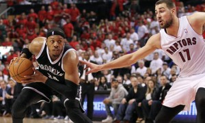 Paul Pierce Nets vs toronto raptors nba Playoffs
