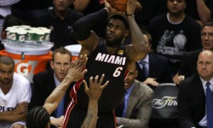 LeBron James Game 2 NBA Finals