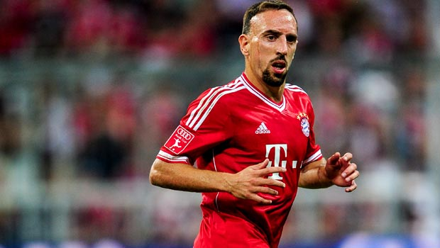 Franck Ribery glad to be back
