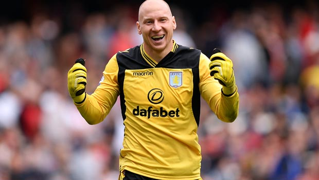 Brad Guzan happy with Aston Villa competition