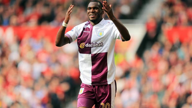Aston Villa striker Christian Benteke focusing on return