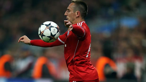 Pep Guardiola expects Franck Ribery weekend return