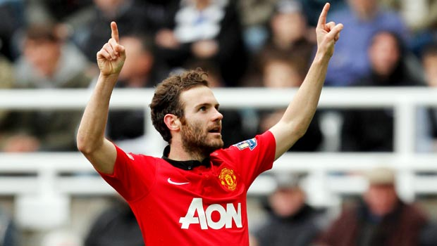 Juan Mata happy with Louis Van Gaal approach