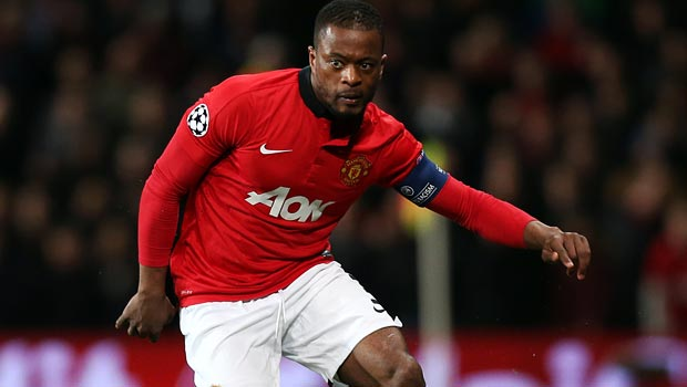 Patrice Evra quick to thank Manchester United