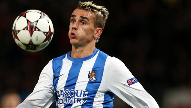 Atletico Madrid land Real Sociedad star Antoine Griezmann