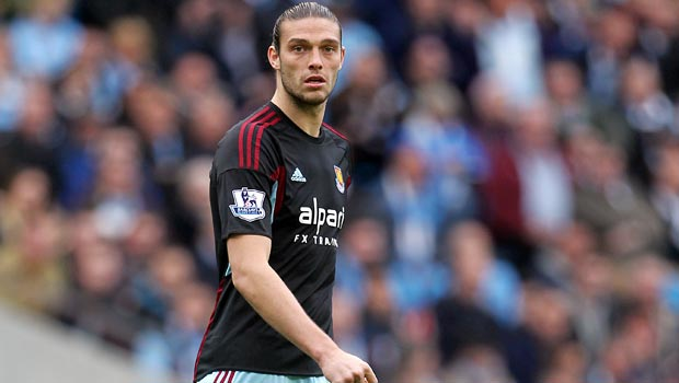 West Ham sweat on Andy Carroll fitness