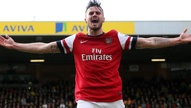 West Ham snap up Gunners star Carl Jenkinson