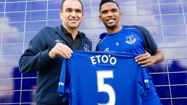 New Everton striker Samuel Eto'o turned down Italian clubs