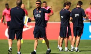 Luis Enrique Barcelona coach