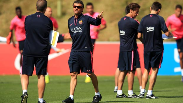 Barcelona coach Luis Enrique ready for new season