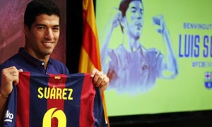Barcelona Striker Luis Suarez: 'I won't bite again'
