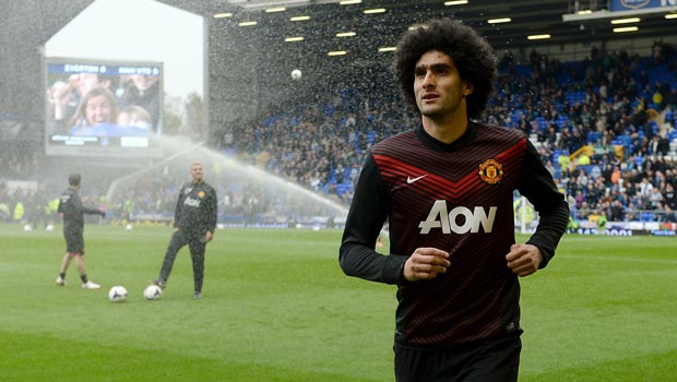 Napoli eye Marouane Fellaini swoop