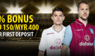 Dafabet Welcome Bonus – Up to SGD150/MYR400 1st Deposit