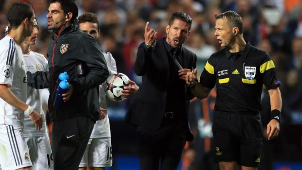 Atletico Madrid coach Diego Simeone staying grounded