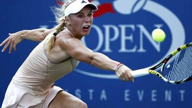 Caroline Wozniacki elated after reaching US last eight