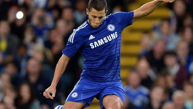 Chelsea forward Eden Hazard targets further improvement