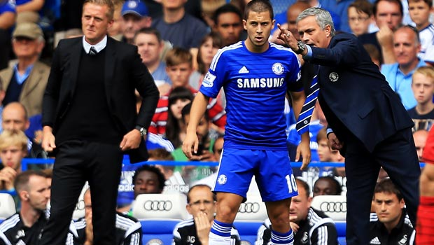 Chelsea's Jose Mourinho expects to secure Eden Hazard future