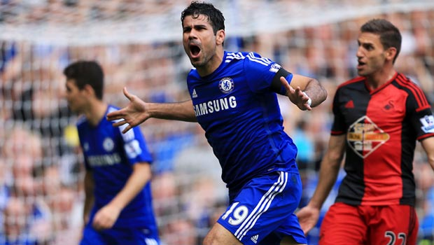 "Chelsea's Jose Mourinho hails ""fantastic"" Diego Costa"