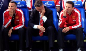 Louis Van Gaal surveys wreckage of Leicester City collapse