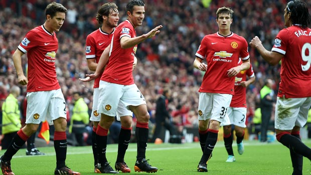Top four the target for Manchester United striker Robin van Persie