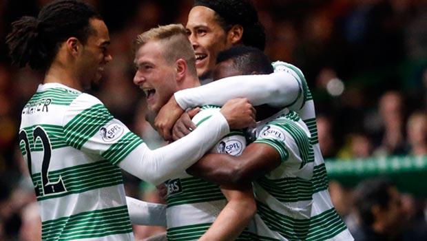 John Guidetti treble buoys Celtic in quarter-Final success