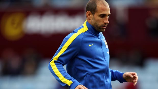 Pablo Zabaleta: Manchester City not good enough