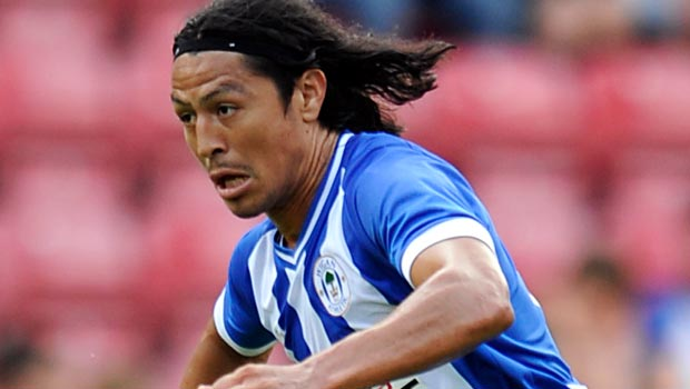 Wigan Athletic expect Roger Espinoza to move on