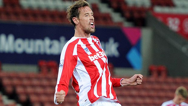 Peter Crouch sees red as Stoke City fall to Southampton
