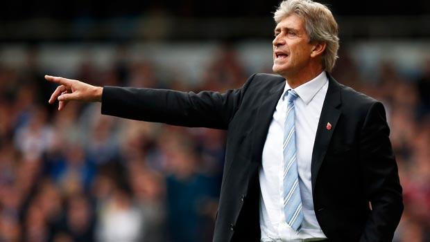 Manuel Pellegrini optimistic over Manchester City's title hopes