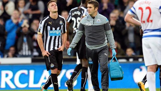 Newcastle United defender Ryan Taylor plays down injury fears