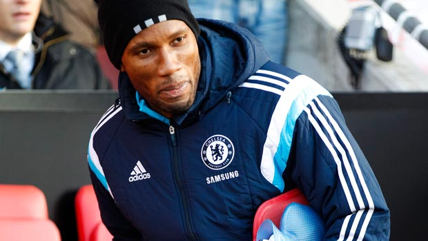 Didier Drogba wants to play on for Chelsea