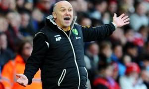 Norwich City first team coach Mike Phelan