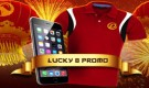 Dafabet Lucky 8 Promo – Get a FREE Dafabet Shirt & iPhone 6