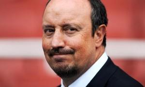 Napoli head coach Rafael Benitez