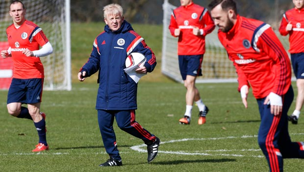 Scotland manager Gordon Strachan ready for new test