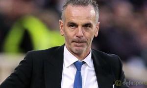 Lazio coach Stefano Pioli