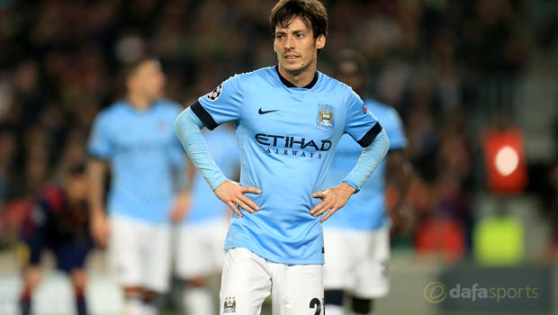 Manchester City star David Silva happy where he is