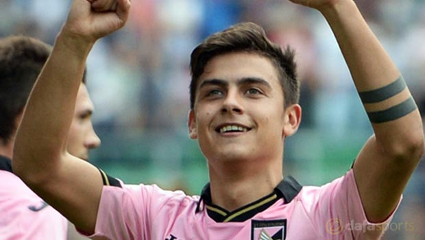 Palermo striker Paul Dybala interest ramped up - Dafa Sports