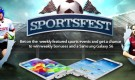Sportsfest – Get a chance to win weekly bonuses and a Samsung Galaxy S6