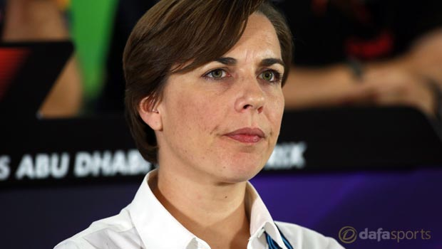 Williams f1 Team Principal Williams Team Principal Claire