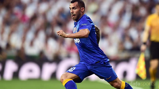 Juventus plan Carlos Tevez talks