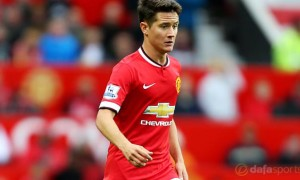 Man United midfielder Ander Herrera shrugs off second-season syndrome fears